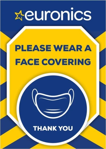 Please Wear a Face Covering.