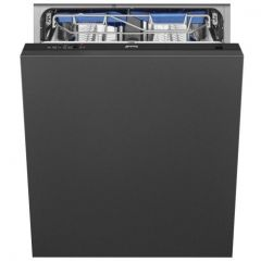 Smeg DI13EF2 Integrated Full Size Dishwasher - Black